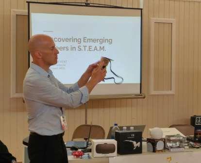 David Ewart Demonstrating